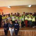 Patrula Şcolii Gimnaziale Avram Iancu din Abrud a ocupat locul I la la concursul organizat de IPJ Alba cu ocazia Zilei 1 Iunie