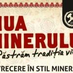 Duminică, 8 septembrie, la Roșia Montană va avea loc Ziua Minerului