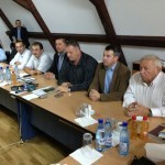 Prefectul Gheorghe Feneşer împreună cu un grup de parlamentari au vizitat Roșia Montană