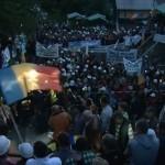 Minerii blocaţi în subteran la Roşia Montană au ieşit din mină după discuţiile de astăzi cu premierul Victor Ponta