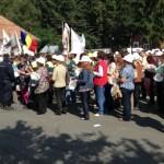 Dacă parlamentarii nu vin la ei, minerii din Roşia Montană vor să reia protestele sâmbătă