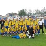 Cuprirom Abrud a terminat pe locul secund după ce a învins cu scorul de 11-0 (5-0) pe Metalul Aiud