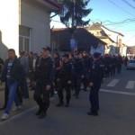 Astăzi la Abrud a avut loc un nou protest împotriva exploatării miniere cu cianuri de la Roșia Montană