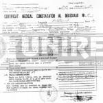 Accidentul aviatic din Apuseni: Certificatul medical constatator al decesului tinerei studente Aurelia Ion | abrudinfo.ro