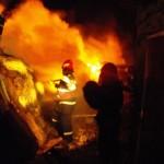 Pagube de 25.000 lei în urma unui incendiu la o magazie din Abrud