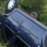 Polițiștii au început urmărirea penală împotriva tânărului din Abrud care s-a răsturnat cu o mașină furată pe Dealul Mare