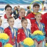 Abrudeanca Mihaela Beldie este medicul lotului olimpic de gimnastică artistică al României