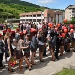 """Ultima oră de dirigenţie pentru promoţia 2014 a Grupului Şcolar """"Horea, Cloşca şi Crişan"""" din Abrud"""