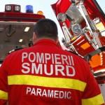 Tânăr din Cluj rănit după ce s-a răsturnat cu mașina pe DN 75, la Vidolm