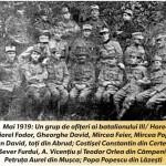 """Memoria documentelor Marii Uniri: Detaşamentul """"Horea"""" din Abrud a oprit, la Hălmagiu, trenul blindat încărcat cu tunuri şi arme automate al armatei maghiare"""