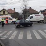 Tânără de 22 de ani din Abrud rănită în urma unui accident rutier petrecut la Alba Iulia