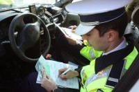 Amenzi de peste 2.600 de lei aplicate în urma unui control pe DN 74A, efectuat de polițiștii din Abrud și Mogoș împreună cu reprezentanții R.A.R.