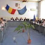 O mână de mineri din Roşia Montană s-au întâlnit cu ministrul delegat pentru Dialog Social Liviu Pop, la Alba Iulia