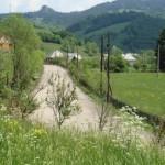 Linie electrică aeriană modernizată în comuna Bucium