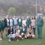CS Gold Roşia Montană, multipla laureată la rugby feminin, s-a retras din campionat din cauza crizei financiare