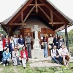 De luni, 15 februarie 2016: Patrimoniul județului Alba s-a îmbogățit cu 6 troițe din comuna Bucium