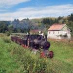 Curse turistice ale Mocăniţei pe traseul Abrud – Câmpeni, în fiecare sâmbătă și duminică