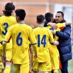 Abrudeanul Răducu Pocol la primul gol marcat pentru România Under 15