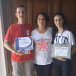 Sicoe Cătălin Nicolae, elev la Liceul Horia, Cloşca şi Crişan din Abrud, a obținut premiul special al Societăţii de Geografie din Romania