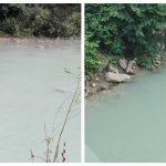 Sterilul din barajul de la Valea Şesei deversat din nou accidental în pârâu