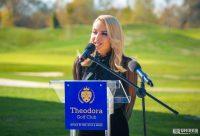 Theodora Popa, la inaugurarea clubul de golf care îi poartă numele: Investiția a însemnat un pariu că putem face ceva deosebit pentru țara noastră   abrudinfo.ro