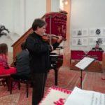 """Pianistul Horia Mihail și violonistul Gabriel Croitoru au concertat pentru Spitalul Orășenesc """"Dr. Alexandru Borza"""" din Abrud"""