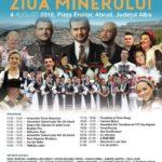 """Mâine, 4 august 2018: Ediție specială a """"Zilei Minerului"""", dedicată anului Centenar, organizată de Cupru Min Abrud. Vezi programul"""