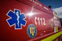 Conducător auto rănit ușor, după ce s-a răsturnat cu mașina pe DN 74 între Bucium și Abrud