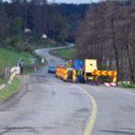 Atenție șoferi! În cursul lunii martie se execută lucrări de reparații pe DN 76, în zona localității Șoimuș